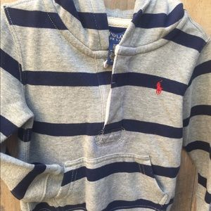 Hooded Ralph Lauren Polo Pullover
